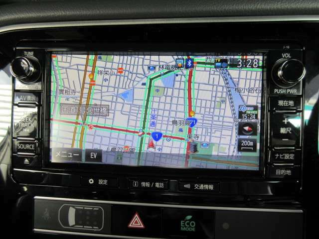 操作もしやすいナビで車の情報もすぐにわかります
