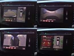 オプション設定のマルチビューカメラシステム&スマートパーキング☆車庫入れが苦手な方も安心です☆