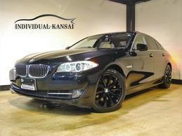 BMW 5シリーズ 535i 3Lタ-ボ/白本革/サンル-フ/ナビ/TV/Bカメラ