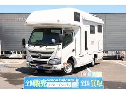 トヨタ カムロード キャンピングナッツRVクレソンボヤージュ タイプXグランデ4WDソーラーパネル