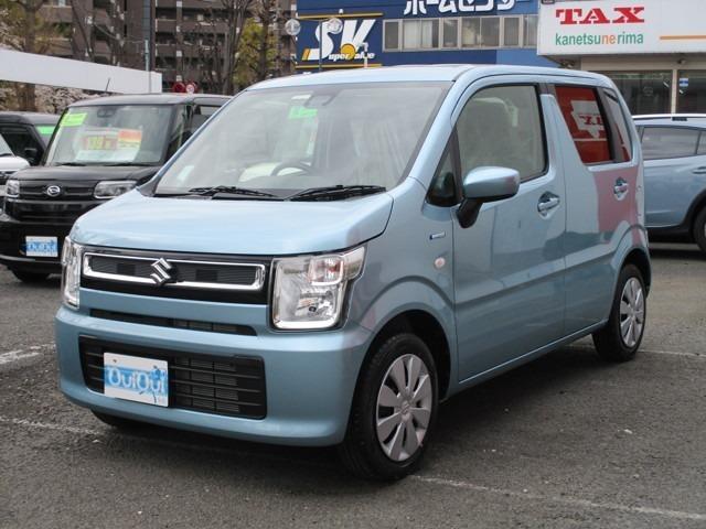 新型ワゴンRハイブリッド-FXスズキセーフティサポート届済み未使用車