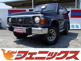 日産 サファリ 4.2 ハードトップグランロード ディーゼル 4WD 5速MTワンオーナーDゼル背面タイヤ