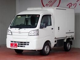 ダイハツ ハイゼットトラック 660 FRP中温冷凍車 片側スライドドア仕様 ハイルーフ -7℃設定 AT車 ナビ+Bモニター