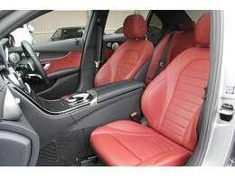 ■レザーエクスクルーシブパッケージを装備しておりますので、赤本革シートがとてもオシャレで綺麗に保たれております!■パワーシートはもちろん、シートヒーターも装備されております!■
