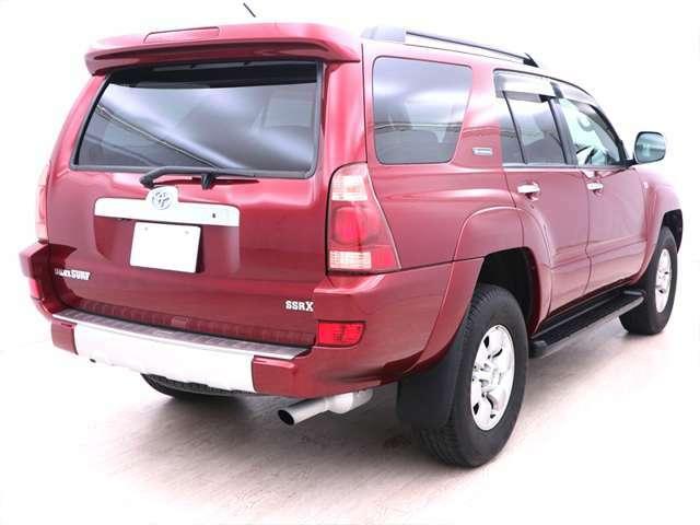 【ラダーフレーム】ラダーフレームが採用されている数少ない車種で、ボディ剛性の高い、本格的な走破性を持つ車でリフトアップにも適しています!