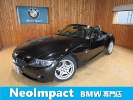 BMW Z4 ロードスター2.5i イカリング  ブラックレザー バッテリ新