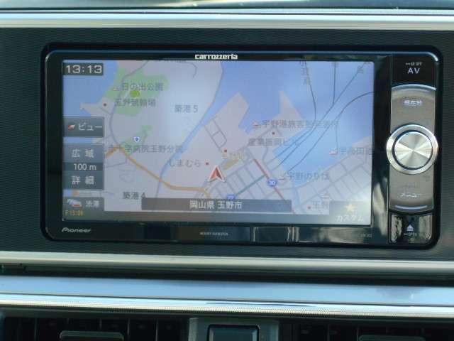 メモリーナビ carrozzeria AVIC-RW302/純正バックカメラ