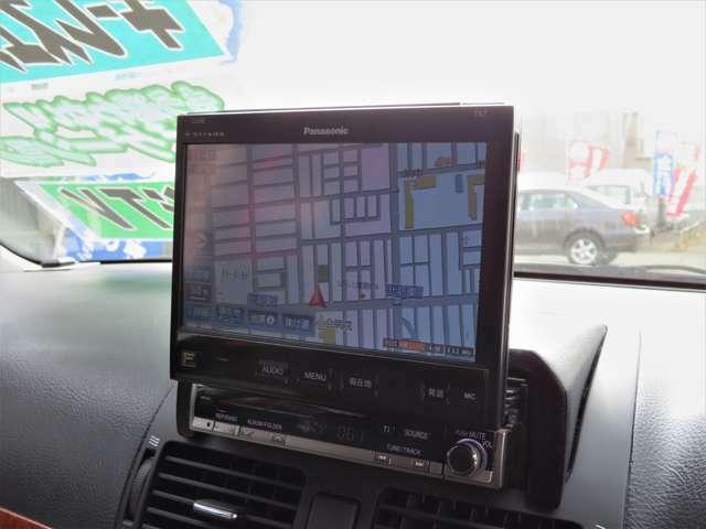 ハイスペックなHDDナビが中古車なら初めから付いているのもお得ですよね(^-^)!初めての道でも安心!