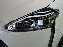 ☆新型LEDヘッドライト☆最近採用車種が増えてきたヘッドライト。HIDよりも省電力で長寿命!白く明るく、視認性の良い先進のヘッドライトです!!