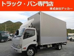 トヨタ トヨエース 4.0DT 4トン アルミバン 背高 荷寸499-207-262
