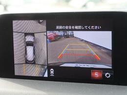 全周囲モニター!車両周辺の確認ができ安心して駐車して頂く事ができますね♪