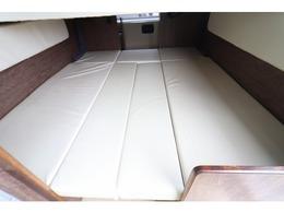 ダイネットベッドは183×156!