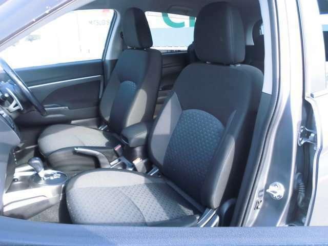 フロントシートの写真です。