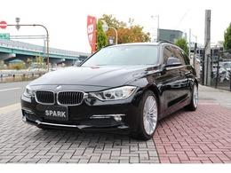 BMW 3シリーズツーリング 320d ブルーパフォーマンス ラグジュアリー 黒革4シリーズラグジュアリー用18インチAW