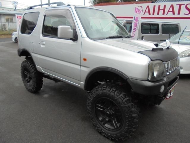 660XC 4WD/リフトUP/純正16アルミMTタイヤ/外マフラー