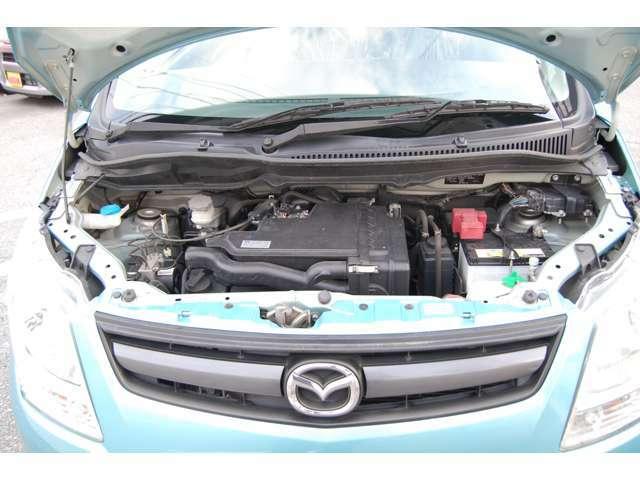 タイミングチェーン式エンジンでメンテナンスフリー!車検付きでお得です!