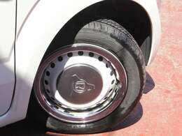 タイヤサイズは155/65R15です。