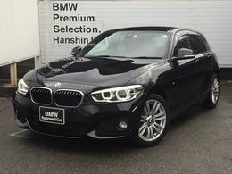 BMW 1シリーズ 118i Mスポーツ 認定保証1オナLEDライトPサポ純正HDDナビ