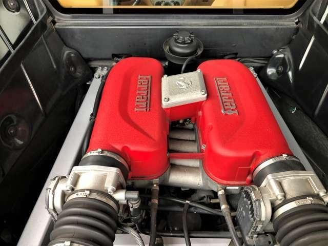 V型8気筒DOHC40バルブ3600ccフェラーリエンジン!フェラーリパワー400馬力(カタログ値)!