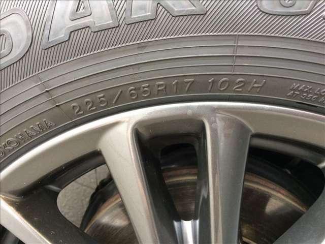 タイヤサイズは225/65R17です!