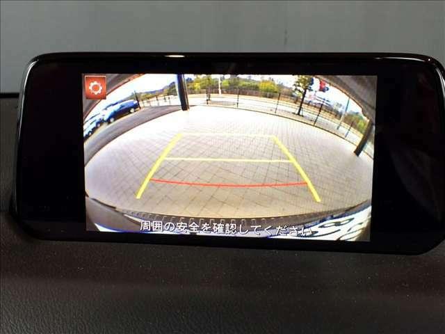 便利なバックカメラ搭載で、後方確認も安心です♪わかりやすいガイドライン付き♪