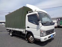 三菱ふそう キャンター 4.9ディーゼル 幌付車 最大積載量2000キロ
