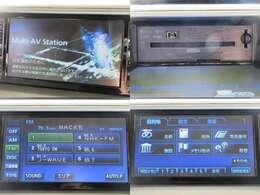 お出掛け嬉しい、純正HDDナビ(フルセグ地デジTV)付です♪DVDビデオ再生機能・音楽録音機能・AUX接続も可能です♪