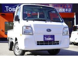 スバル サンバートラック 660 TC スーパーチャージャー 三方開 4WD 5速MT/ワンオーナー/キーレス