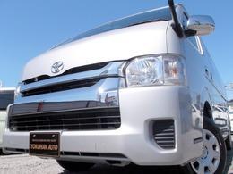 トヨタ ハイエース 2.7 グランドキャビン 4WD 4型6ATナビTVBカメラ電動ドア記録簿