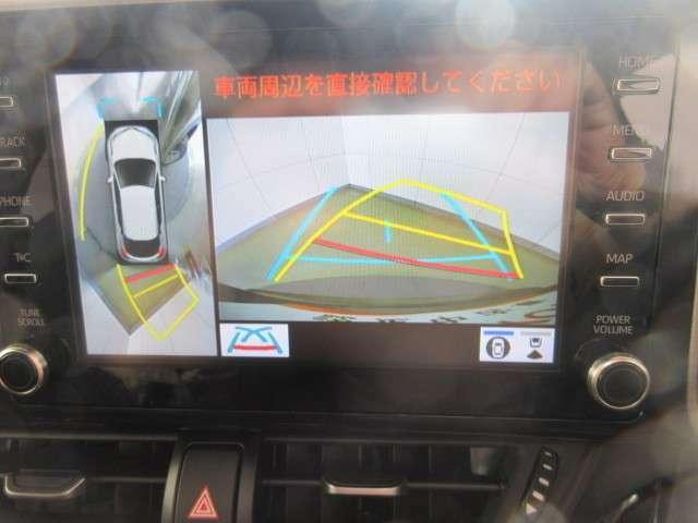 全方向カメラで車庫入れも安心です。