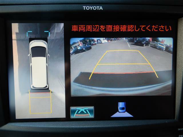 【バックカメラ】駐車が苦手な方でも安心した駐車が可能ですヨ♪