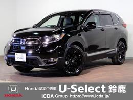 ホンダ CR-V 2.0 e:HEV EX ブラック エディション 4WD 純正SDナビTV サンルーフ 黒革シート