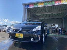 トヨタ プリウスα 1.8 S 車検整備付 地デジナビ 寒冷地仕様