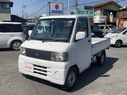 三菱 ミニキャブトラック 660 VX-SE エアコン付 4WD タイミングベルト交換済