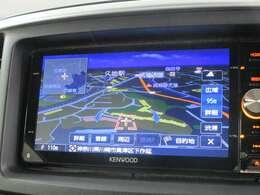 ケンウッド製メモリーナビ(MDV-Z702W) フルセグ DVD再生機能 Bluetooth対応 USB接続可 バックカメラ付き!