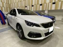 308SW GT  BLUEHDi ディーゼルターボ パールホワイト
