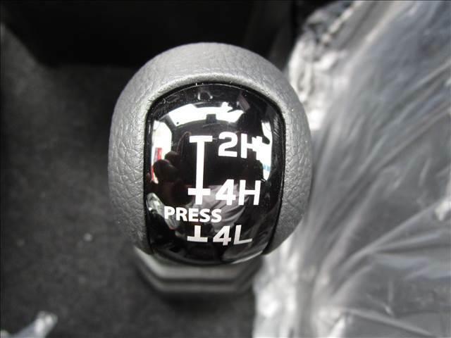 4WDへの切り替えもこのレバー操作一つです。