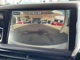 オプションのバックカメラ装備。付いている車両は以外と少ない為、あると便利です!他社とお迷いでしたらこの部分も要チェックです!