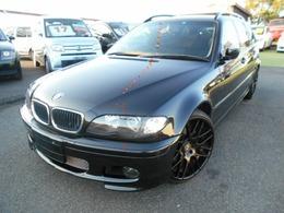 BMW 3シリーズツーリング 318i ローダウン 19インチアルミ