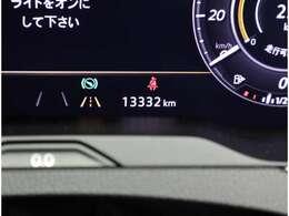 現在の走行距離です。マルチファンクションインジケータも装備していますので、あなたのドライブをサポート致します。