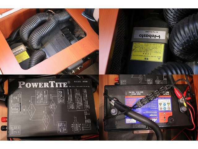 FFヒーター 外部充電 サブバッテリー