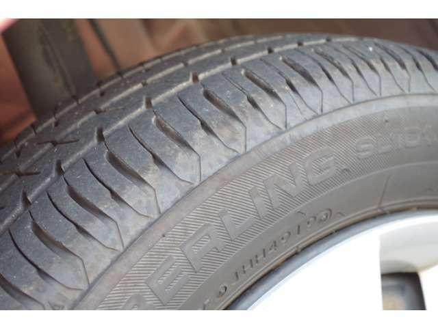 タイヤの溝ご確認下さい