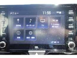【純正メモリナビ搭載】Bluetooth音楽・フルセグTVもお楽しみいただけます♪