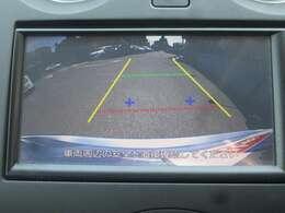 純正バックビューモニターが付いておりますので、狭い駐車場でも安心して操作できます!