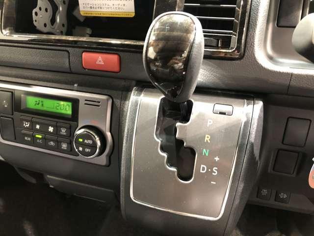 【MTモード付AT】AT車でありながらまるでMT車のようにシフトを自分で操作することができます!
