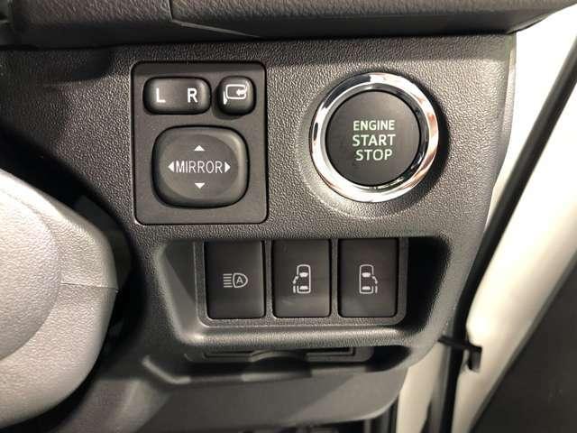 【両側パワースライドドア】小さなお子様でもボタン一つで楽々乗り降り出来ます♪駐車場で両手に荷物を抱えている時でもボタンを押せば自動で開いてくれますので、ご家族でのお買い物にもとっても便利な人気装備♪