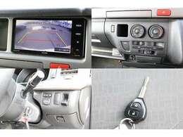 SDナビ 地デジフルセグTV DVD再生 音楽録音 Bluetooth バックカメラ  後席フリップダウンモニター メインサブ切り替えスイッチ キーレス キーレス