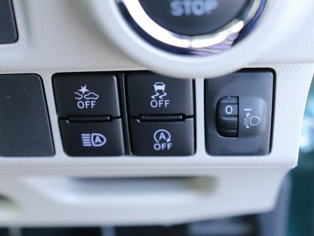 各種スイッチで便利な装備です