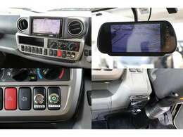 メモリーナビ 地デジフルセグTV DVD再生 音楽録音 Bluetooth 常時ミラー型バックカメラ ETC キーレス