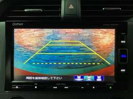 バックカメラも装備されております。後方確認も楽々になり更に車を操る感動をお楽しみ下さい。